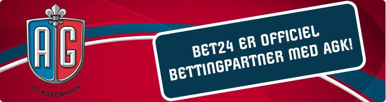 Bet24 sponsorerer AG København