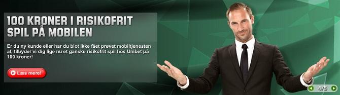 EM i Herrehåndbold 2014 og Unibet 100 kr. risikofrit mobil free bet