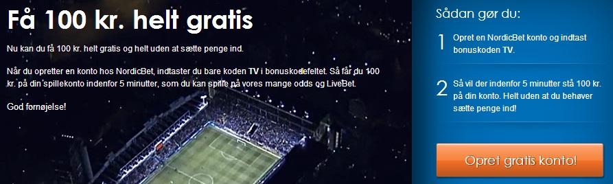 Nordicbet Gratis Free Bet